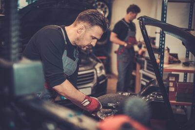 mechanics working together
